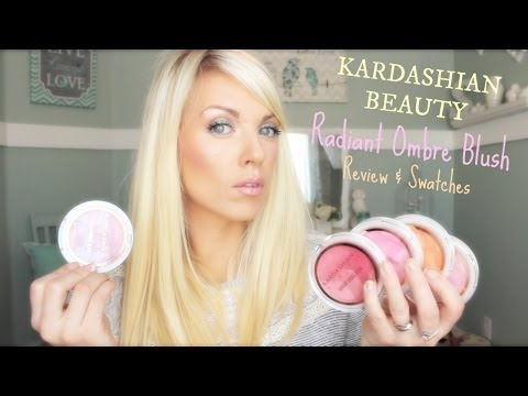 ❤ NEW Kardashian Beauty Radiant Ombre Blush Review & Swatches ❤
