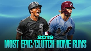 The most epic/clutch home runs of 2019! (Walk-offs, comebacks and more!)