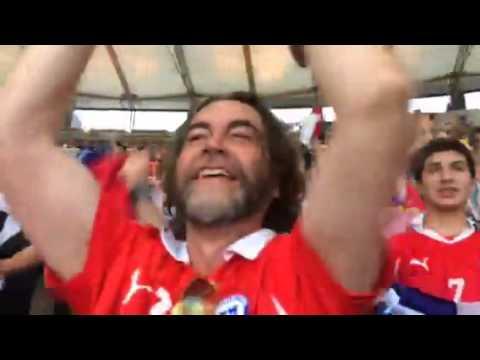 Así celebran los goles chilenos con Señal Deportes