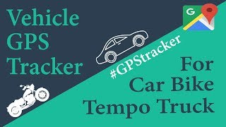 GPS Tracker for Car and Motorcycle 2018