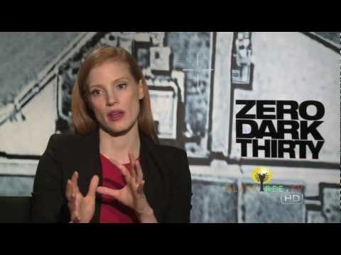 OSCAR NOMINEE: Jessica Chastain talks Zero Dark Thirty & working with Kathryn Bigelow