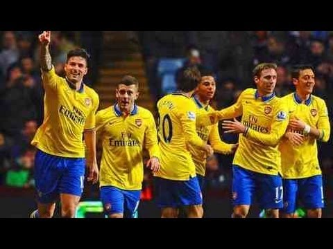 Arsenal 2 Aston Villa 1 - Highlights