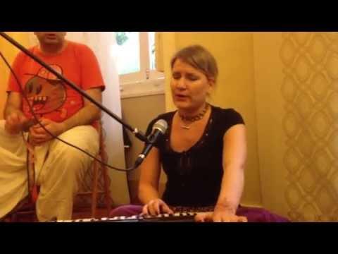 Melodious Hare Krishna Kirtan By Kalindi - Iskcon Lisboa - Jul 14, 2013 video