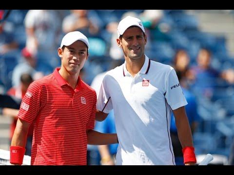 Novak Djokovic Vs Kei Nishikori Highlights US OPEN 2014 [HD]