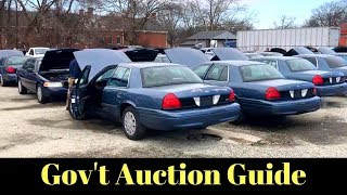 HOW TO FIND and BUY at Government Surplus Auctions