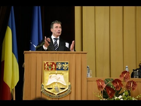 Why NATO's door will remain open - Speech by NATO Secretary General at Bucharest University