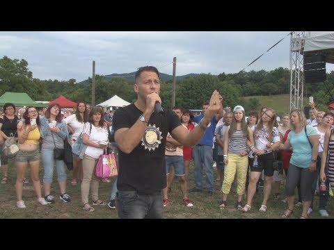 Vastag Csaba a hasznosi falunapon 2019.júl.20.
