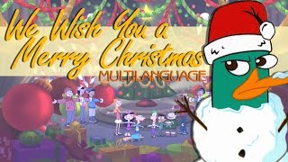 PnF - We Wish You a Merry Christmas (Multilanguage)