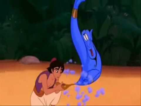 Mensagem Subliminar - Aladdin