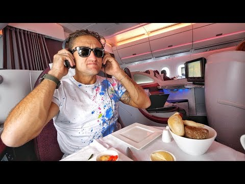 QATAR AIRWAYS A350 BUSINESS CLASS REVIEW; INCREDIBLE