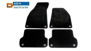 Audi A4 2004 to 2008 Prestige Tailored Car Mat Set From MicksGarage.com