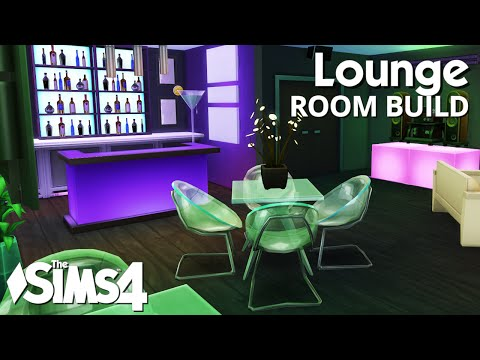 The Sims 4 Room Build - Lounge