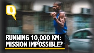 Can You Run 10,000 Km in 100 Days? Samir Singh Is Eyeing an Incredible World Record