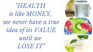Health Is Like Money