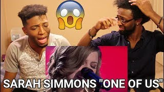 Download Lagu The Voice 2013 - Sarah Simmons - One Of Us - Blind Audition (REACTION) Gratis STAFABAND