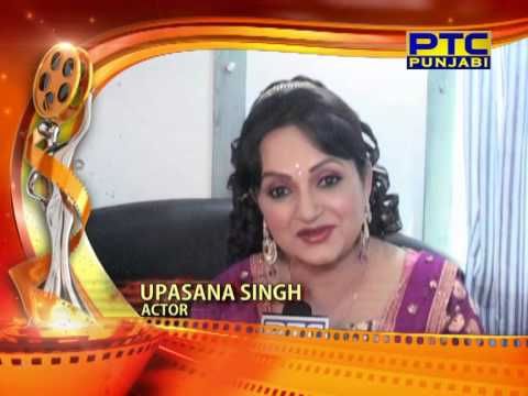 Ptc Punjabi Film Awards 2014 I Upasna Singh Wishes video