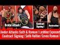 Seth Saves Roman ! Jinder Brutal Attack ! Braun Strowman Destruction ! WWE Raw 5/21/2018 Highlights