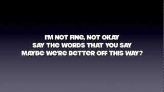 Maroon 5 - Better That We Break Lyrics (HD)