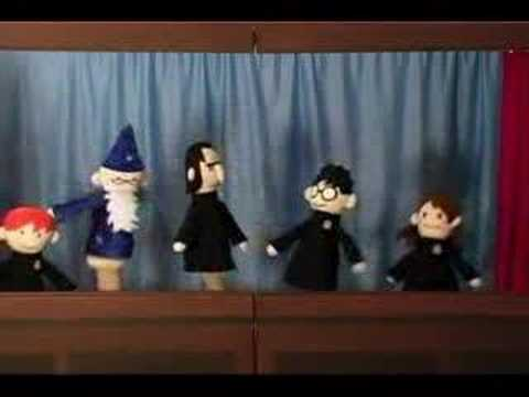 Harry Potter Puppet Pals and the Mysterious TIcking Noise
