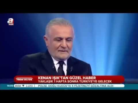 Kenan Işık Türkiye ye getiriliyor