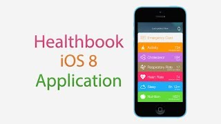 Healthbook iOS 8 Application Demo