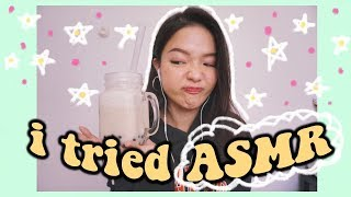💆🏻 LẦN ĐẦU THỬ LÀM VIDEO ASMR 🌙 (và maybe ... FAILED 😂) | I Tried ASMR | Diane Le