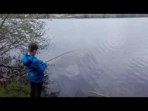 рыбалка летней удочкой на мормышку с кивком