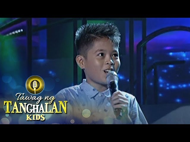Tawag ng Tanghalan Kids: Clyde Vance Lomotos | One Call Away
