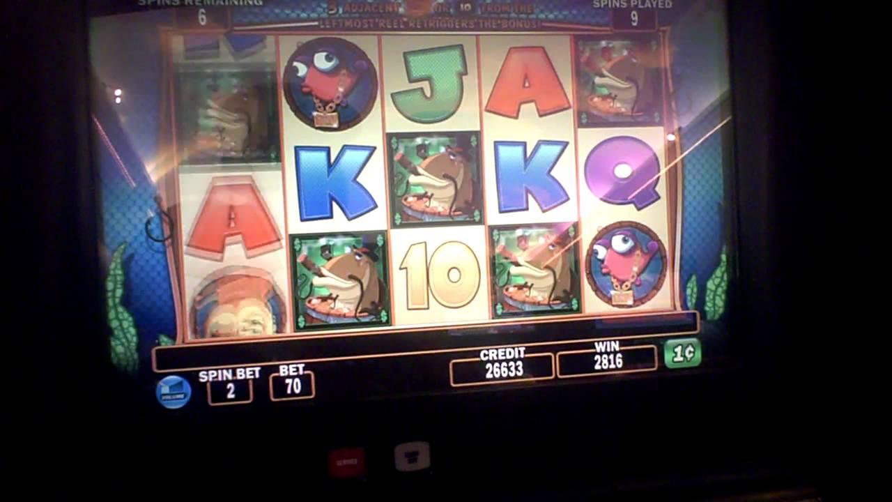 Fish in a barrel slot machine bonus youtube for Fish slot machine
