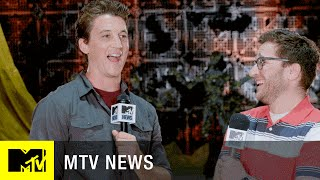 Shailene Woodley & Miles Teller Break Down The Action in 'Divergent Series: Allegiant' | MTV News