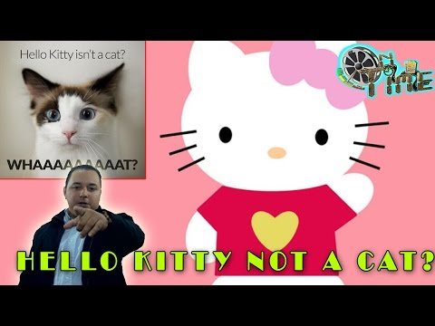 Hello Kitty Is Not A Cat - Expert says Hello Kitty is not a cat SURPRISE!