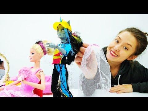 Свадебное платье Барби. Видео и игры для девочек