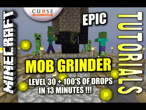 MINECRAFT - PS4 - GRAVITY MOB GRINDER - 2000 SUBS! - TUTORIAL ( PS3 / XBOX /PC / PE ) TU19 UPDATE