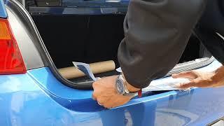 BMW M Performance *Rear Bumper Sticker Protector*