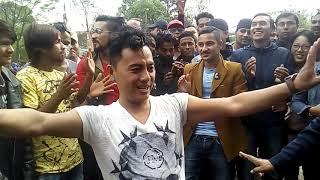 shyam rana dancing in virkutimandap