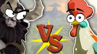 Can you kill a Lynel with Chickens? (Zelda Breath of the Wild)