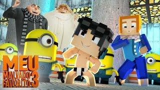 Minecraft: Who's Your Family? - A FAMÍLIA DO MEU MALVADO FAVORITO 3! [ WIIFEROIZ ]