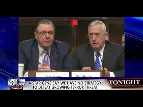 • U.S. Military Leaders Criticize Obama's Failed Terrorism Strategy • Kelly File • 1/27/15 •