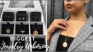 Biggest jewelry unboxing with Shashi