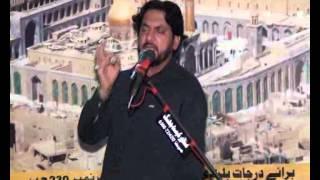 Zakir Syed iqbal Hussain Shah of Bijar majlis 6 shawal 2013 waqiat imam e Sijad, as , at chak 230 Ba
