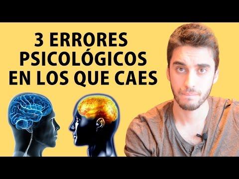 3 errores psicológicos y como evitarlos!