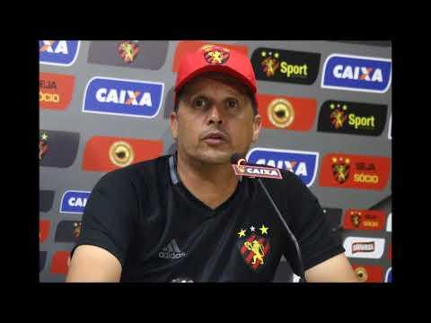 Eu Pratico Sport TV I Coletiva Claudinei Oliveira (Paraná 0 X 2 Sport)