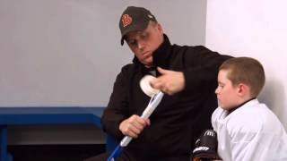 How to cut and tape a Hockey Stick  by WINNWELL HOCKEY