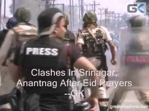 Clashes In Srinagar, Anantnag After Eid Prayers