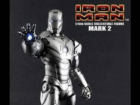 Iron Man Movie Hot Toys Mark II Armor Iron Man 1/6 Scale Collectible Figure Review