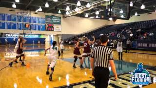 12/13 UWF Women's Basketball Highlights vs. Lee