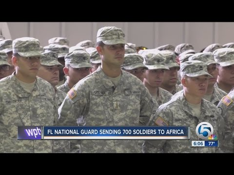 FL National Guard sending 700 soldiers to Africa