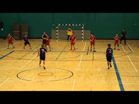 Leeds Beckett v Peninsula - NDL Men Handball [Hghlights]