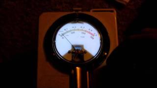CDV-700 Meter back light pulse detect mode