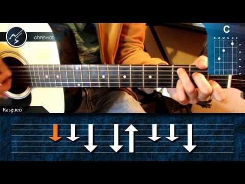 Como tocar Noviembre sin ti en Guitarra (HD) Tutorial Acordes